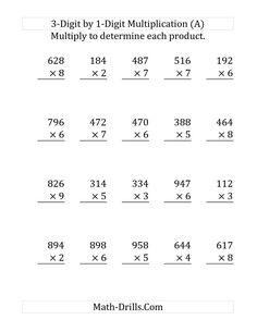 6 Fourth Grade Multiplication Worksheets Printable Grade Multiplication Worksheets √ Fourth Grade Multiplication Worksheets Printable . 6 Fourth Grade Multiplication Worksheets Printable . Free Grade Math Worksheets Multiplication 3 Digits by 1 in 4th Grade Multiplication Worksheets, Math Addition Worksheets, Math Coloring Worksheets, Free Printable Math Worksheets, Kindergarten Worksheets, In Kindergarten, Long Multiplication, Year 5 Maths Worksheets, Fourth Grade