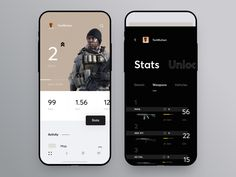 "via Muzli design inspiration. ""Weekly Inspiration for Designers is published by Muzli in Muzli - Design Inspiration. Design Ios, Game Ui Design, Mobile Ui Design, Dashboard Design, Icon Design, Flat Design, Graphic Design, Design Thinking, Motion Design"