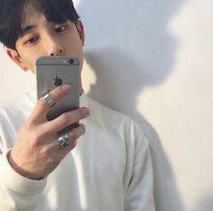 boy, iphone, and korean image