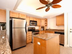Prepare a gourmet meal or a picnic lunch in the gourmet kitchen fit for a chef.   Call Pfeifer Realty Group to find out more about this great condo.