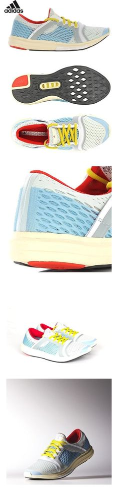 reputable site ff793 d3fe6 adidas by Stella McCartney Women s Climacool Sneakers, Mint Oyster Blue Box  Red, 9 B(M) US