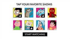 ALL YOUR FAVORITE SHOWS IN ONE PLACE