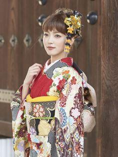 Kimono Furisode/着物 振袖 2016年新作(No: 3091) / スタジオ醍醐