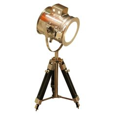 Fat Shack Vintage Tripod Search Light Table Lamp