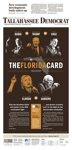 Tallahassee Democrat 2/29/16 via Newseum