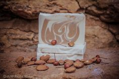 Cherry Almond Goatsmilk Soap by RusticEdgeSoaps on Etsy