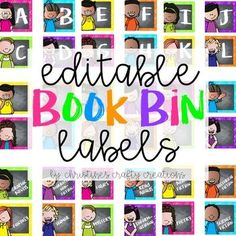These labels are very bright and colorful and are a great way to help organize your classroom library.  Includes labels for book levels A-Z Includes the following book labels: Picture Books Fiction Non-Fiction Historical Fiction Poetry Science Fiction Gra