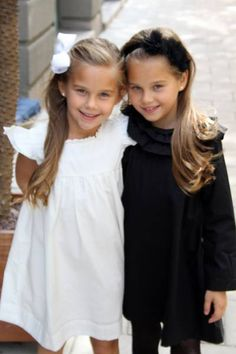 Leopold & Livia AW13 -                           Beautiful girls wearing Leopold & Livia dresses