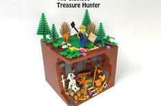 The Clueless Treasure Hunter Pirate Lego, Lego Ship, Tiki Lounge, Thanos Marvel, Treasure Maps, Small Farm, Clueless, Legos, Vignettes