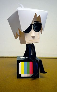Andy Warhol - Paper Toy