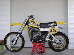 "1979- Yamaha YZ400F ""Hurricane replica"" (fully modified)"