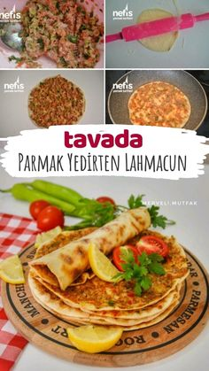 Pan-Fried Lahmacun (You Will Eat Your Fingers) – Yummy Recipes - Rezepte Yummy Recipes, Yummy Snacks, Appetizer Recipes, Yummy Food, Italian Chicken Dishes, Turkish Recipes, Ethnic Recipes, International Recipes, Eating Habits