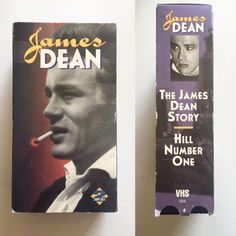 The James Dean Story VHS 1998 2-Tape Set . by MsStreetUrchin