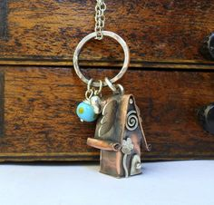 Fairy House with Wings Handmade in Copper Ready to Ship £46.00