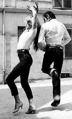 Brigitte Bardot flamenco dancing