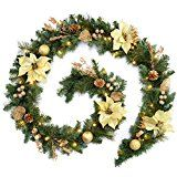 WeRChristmas 9 ft Decorated Pre-Lit Garland Christmas Decoration Illuminated with 40 Warm White LED Lights, Cream/ Gold by WeRChristmas  (149)Buy new:  £29.99  £21.36 (Visit the Bestsellers in Home & Garden list for authoritative information on this product's current rank.) Amazon.co.uk: Bestsellers in Home & Garden...