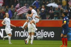 US Women's Soccer just beat France to go onto the World Cup Finals. ?!