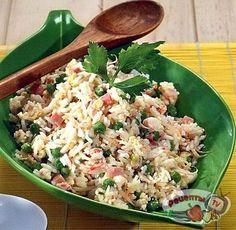 рис по-китайски с морепродуктами рецепт с фото