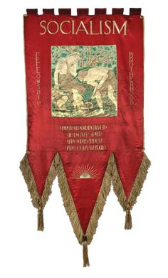 William Morris Gallery ~ Socialist Banner 1890s