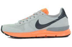75317cedc Nike Lunar Internationalist - Grey - Orange Grey Sneakers