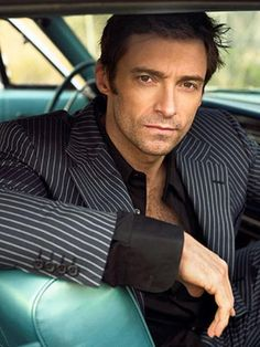 Hugh Jackman...I don't think he's that cute but my mom really likes this picture