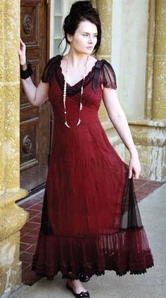 PORTOFINO DRESS Victorian Trading Co. reproduction antique. $200