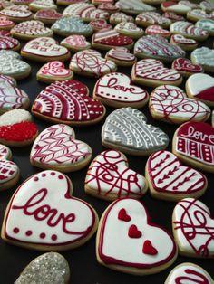 Valentine's Day - sugar cookies