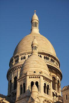 Aligned towers - Sacre Coeur - Paris - France