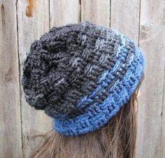 (4) Name: 'Crocheting : crochet men's hat