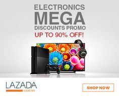 Grab up to 90% on the purchase of superior quality #Electronics Products from top rated brands such as #OEM, #Toshiba, #Hitachi and much more at Lazada.