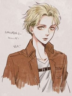 Attack On Titan : Nanaba, from Scouting Legion (according to the author, Nanaba is actually a girl)