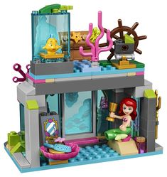 LEGO Disney Princess Ariel and The Magical Spell 41145 Building Kit Piece) Legos, Disney Princess Set, Lego Friends Sets, Best Electric Scooter, Diy Barbie Furniture, All Lego, Disney Toys, Building Toys, Lego Sets