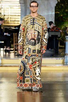 Dejan Obradovic- Male Model. Dolce & Gabbana Palermo Show. Alta Sartoria.