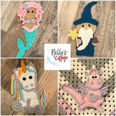 Magical Creatures Crochet Patterns INSTANT DOWNLOAD PDF