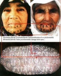 Visual result about Turkish tattoos - RAMONA Aliens And Ufos, Ancient Aliens, Ancient History, Islamic Alphabet, Mysterious Events, Semitic Languages, I Love Rain, Tribal Looks, Ancient Mysteries