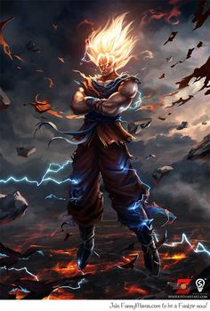 Son Goku...... Whoa!