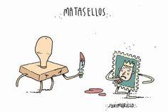 Matasellos, por Mikel Murillo