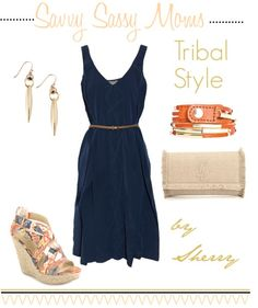Tribal Style - Love the wedge