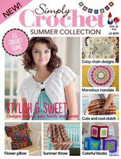 Mijn eigen plekkie: Gratis zomer editie van Simply Crochet/Free Simply...