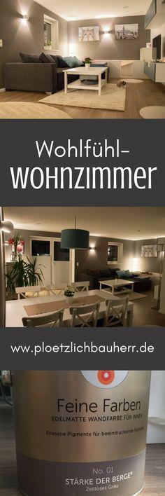 Wände streichen in Küche und Wohnzimmer Pinterest Living rooms