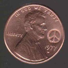 1977 PEACE COIN