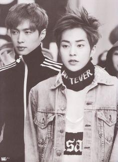 Lay & Xiu Min | EXO's 1st Photobook 'Die Jungs'