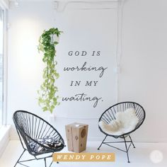 Waiting isn't meant to be a grueling process. What if we view it as a pause or an interlude, a place we can experience the peace of God while He works in us so He can work through us? He is actively working while we wait — a promise that never disappoints Encouragement For Today, Encouragement Quotes, Spiritual Encouragement, Good Good Father, God Is Good, Consider It Pure Joy, Todays Devotion, Proverbs 31 Ministries, Abba Father