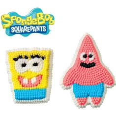 SpongeBob SquarePants Icing Decorations from Wilton 5130 for sale online Decorating Supplies, Cake Decorating Tools, Spongebob Birthday Party, Kids Birthday Themes, Wilton Cake Decorating, Spongebob Squarepants, Icing Decorations, Party Supplies, Halloween Costumes