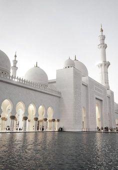 The Grand Mosque, Abu Dhabi #travel