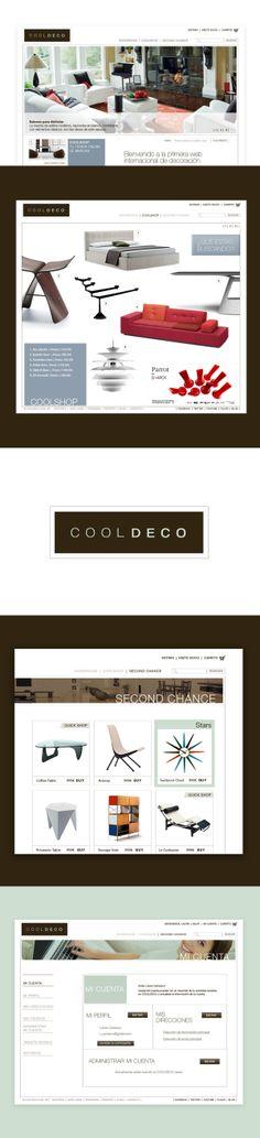 COOLDECO E-commerce web design project