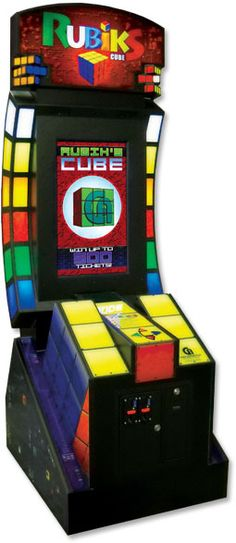 Rubik's cube arcade - Watch the video and remember the sequence to solve Rubik's Cube. Win tickets for each cube solved.
