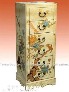 Hand Paint Furniture China Style Photos Cabinet