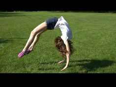 Getting Over The Fear of a Back Handspring, Converting to a Back Tuck, Mistakes -Riley Brown - YouTube