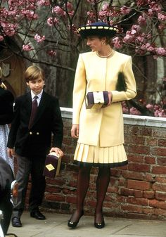 The British Royal Family's Best Easter Fashion: See Princess Diana, Kate Middleton, Queen Elizabeth II, and Princess Diana Fashion, Princess Diana Family, Royal Princess, Princess Of Wales, Lady Diana Spencer, Diana Son, Tilda Swinton, Princesa Kate Middleton, Pippa Middleton